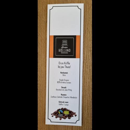 Huize-Holland-Peru-Koffie-Label-lungo